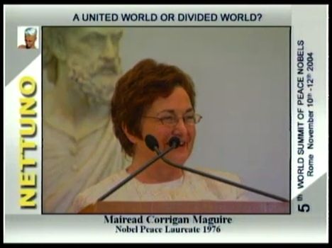 V SUMMIT MONDIALE DEI PREMI NOBEL PER LA PACE A United World or Divided World?