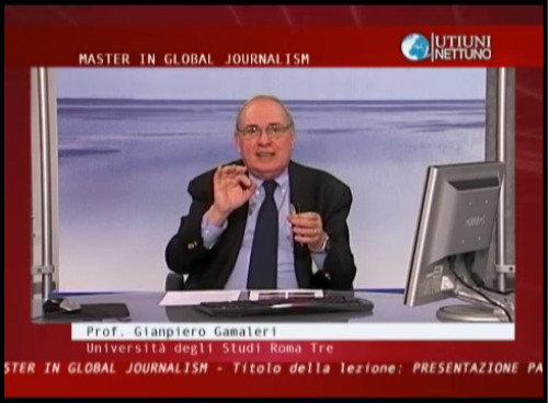 Master in Global Journalism II Parte