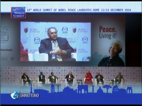 XIV World Summit of Nobel Peace Laureates Living Peace Preventing Wars. Averting Conflicts for Global Security the role of international institutions